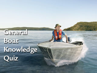 General Boat Knowledge Quiz